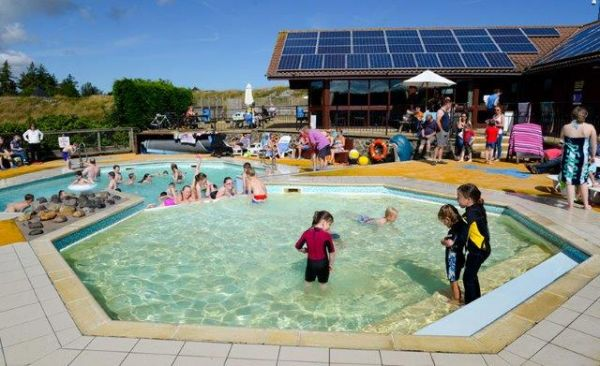Have fun in the sun in our splash pool