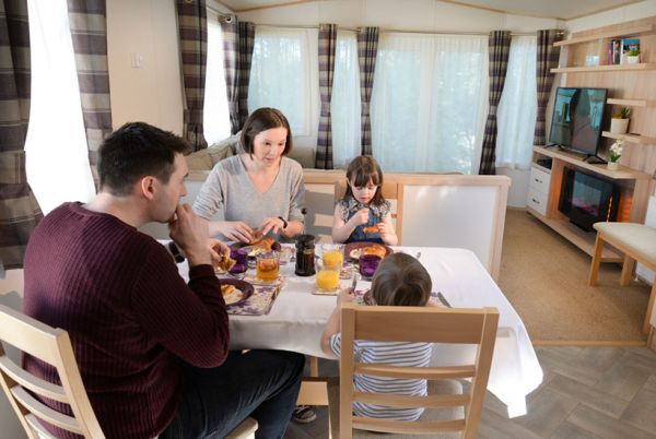 Make yourself at home dining in with our Gold Accomodation