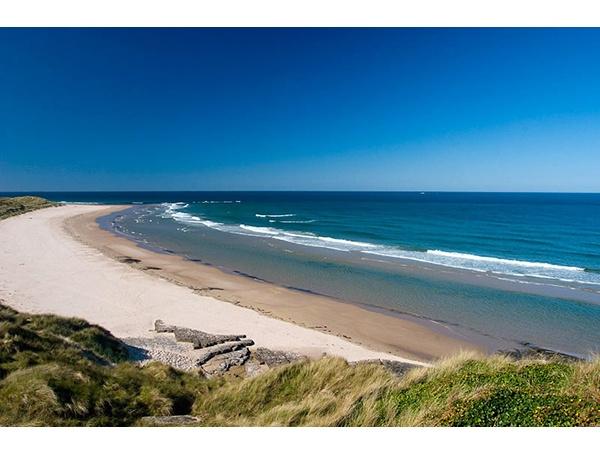 Miles of golden sandy beaches