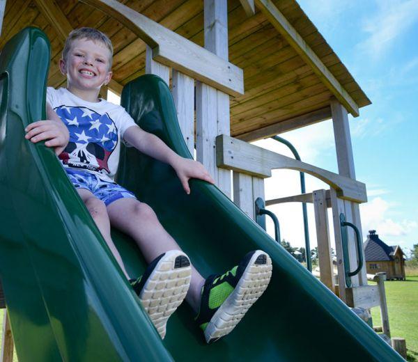 Smiles on the slide