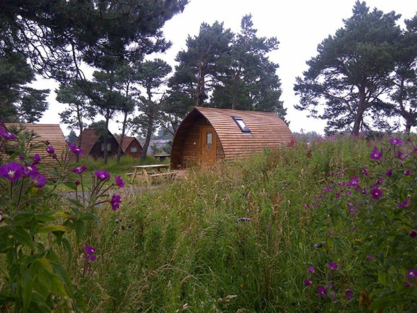 Glamp in style in our wigwams