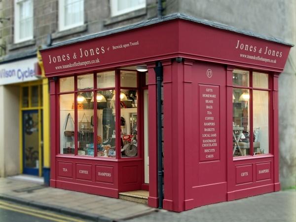 Jones and Jones shop front 2014