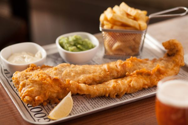 giant beer battered cod