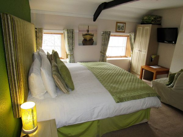 Our Sea Holly super kingsize and family room