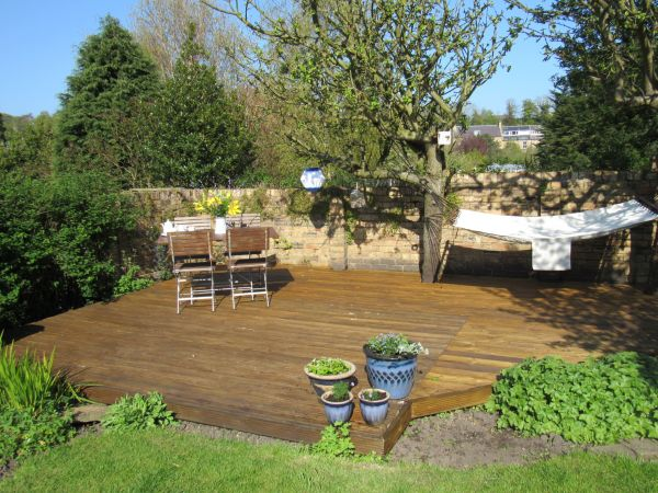 one of our garden areas